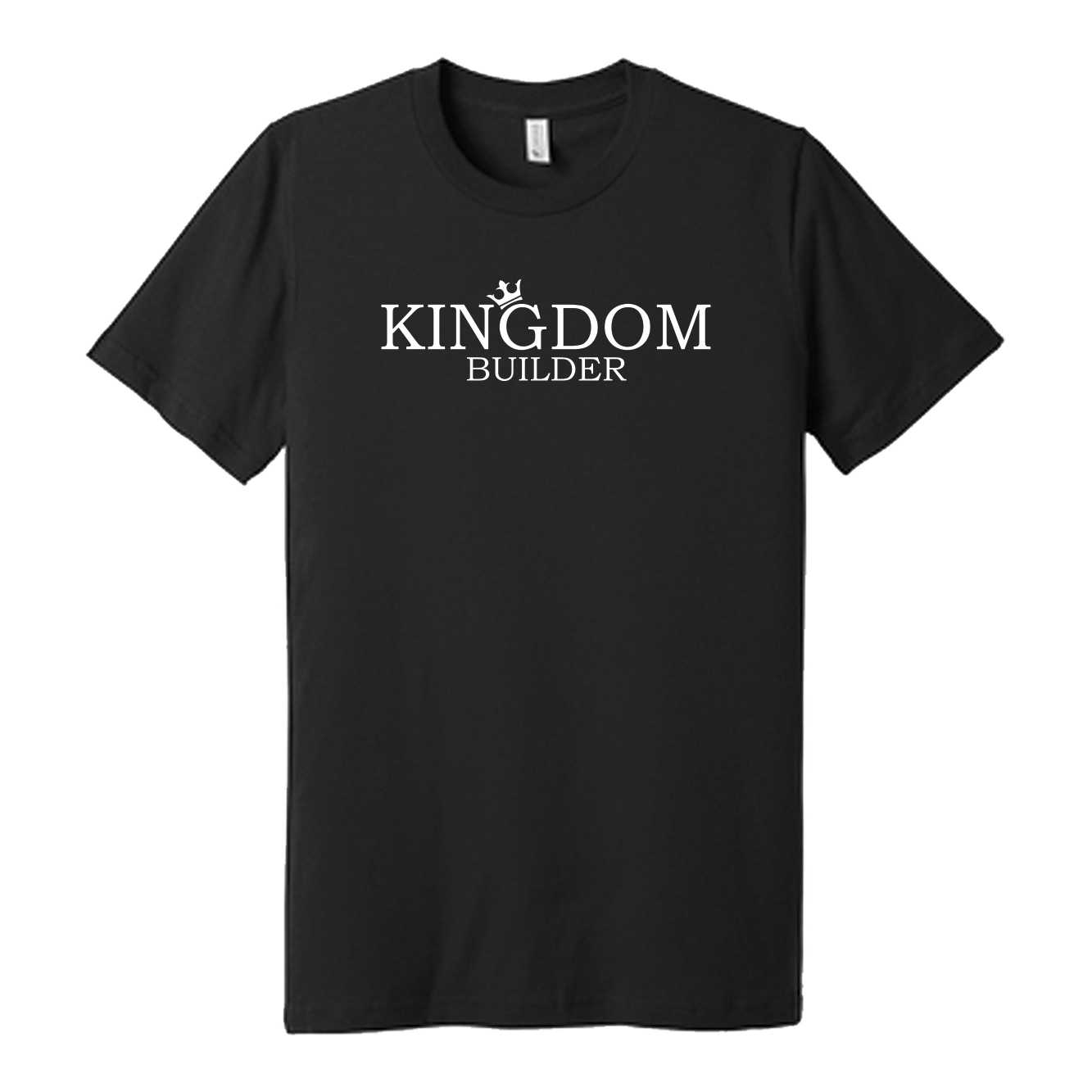 Blk Shirt Kingdom Builder