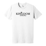 Wht Shirt Kingdom Strong