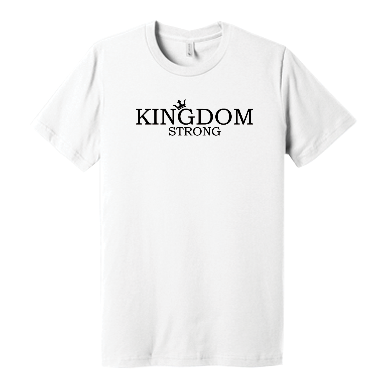 Wht Shirt Kingdom Strong